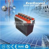 EverExceed 2V Flooded Tubular OPzS Range lead acid Battery with Long-life Expander Material