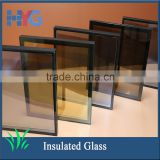Beatiful bathroom low-e tempered insulated window glass types