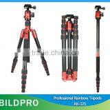 BILDPRO Fashion Products Anodization Aluminum Tripod Camera Professional Heavy Duty Tripod Stands