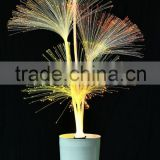 Wholesale new design 120cm fiber optic light with color change light and with high base in different style