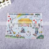 school stationery a4 size L shape folding document holder L shape plastic folder pp plastic file folder for paper