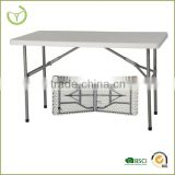 HDPE+ steel tube 122*61*74 cm plastic folding tables wholesale                                                                         Quality Choice