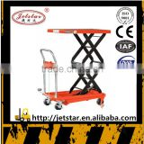 Manual Hydraulic Lifting Platform small Trolley