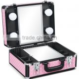 Small beauty bag with lift up mirror D9520K                                                                         Quality Choice