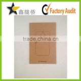 High quality recycle brown kraft paper mobile phone HD lamination screen protector bag                                                                         Quality Choice