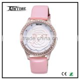 ring clock ring watch pictures of fashion girls watche,quartz watches bezel japan movt flower ladies watches