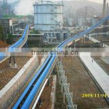 Chain conveyor and cement plant belt conveyor with ship loader