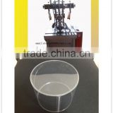 transparent conical tube welding machine