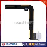 China supplier replacement flex cable charging for ipad 5, flex dock connector USB port charger for ipad 5