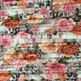 quilting fabric,100% polyester printed embroidered fabric,thermal fabric for down coat,jacket and garment fabric