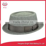 traditional wool felt hat porkpie hat