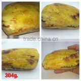 Polished Natural Baltic Amber stones wight 304 g., Amber raw stone