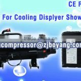 Replace sanyo compressor gas r404 for meat showcase freezer small cold rooms and refrigerated cabinets mini room cooling unit