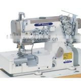 AS562-05CB High speed flat bed interlock sewing machine for elastic lace cord