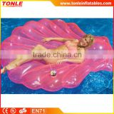 Inflatable seashell pool float/inflatable seashell pool raft for sale