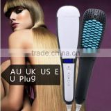 2016 Hot As Seen On TV Steam Hair Brush, Ceramic Hair Straightener Comb with LCD Display