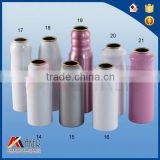 Empty Aluminum aerosol can for foam products, can print
