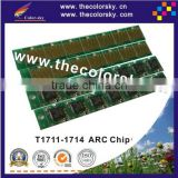 (ARC-E-T1711R) ARC auto reset inkjet ink cartridge chip for Epson T1711 T1712 T1713 T1714 Expression Home XP-103 XP103