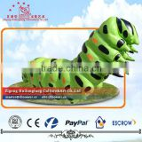 Giant insects Fiberglass Sculpture Butterfly Larva Sculpture
