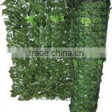 MINZO hot selling garden fence artificial plastic leaf fence artificial hedge                                                                         Quality Choice