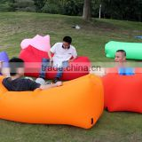 Factory outdoor lazy-sofa air sleeping bag inflatable air lounge laybags manufacturer of laybag with air inflatable