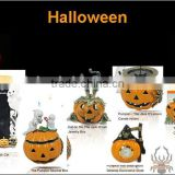 Fashion metal Halloween pumpkin photo frame and trinket box jewelry set ,Customized Colors or LOGO and OEM design accept