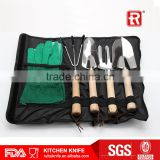 Wooden handle garden tool with roll bag Chinese garden tools 2016 hot sell                                                                         Quality Choice