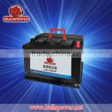 Maintenance free automotive battery ,JIS/DIN 100Ah standard top Korean car battery,12V/24V 100AH truck battery