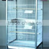 Large White Parrot Cage Bird Parakeet Home