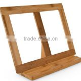 Eco Friendly cheap price Cook Book Holder Bamboo book holder/cooking book stand