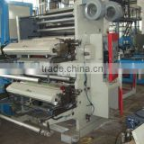 YT-2600 Two Colors Plastic film roll to roll mini offset printing machine price