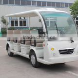 Electric shuttle bus/electric vehicle, 14 seats, deliver passengers, CE certificate