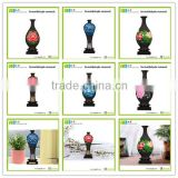 Environmental friendly living traditions home decor antique flower vase 3D shape chinese new year gifts