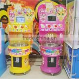 High quality coin operated Commercial cotton candy maker machine, Candy floss maker from Guangzhou