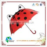 3D Pop-Up kids ladybug umbrella boys souvenir umbrella