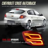 Factory price modified red tail lamp for Chevrolet Hatchback Cruze car rear tail light assembly for Ben-z style