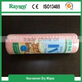 Manufacturer Spunlace /Nonwoven/Nonwoven Spunlace Rolls Home Cleaning Wipes