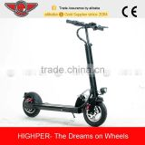 350w brushless motor 10ah lithium battery 10 inch aluminum folding mini 2 wheel electric scooter for adults