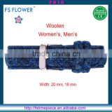 FS FLOWER - European Watches England Brands Woolen Clothing Navy Watches Strap China Made 18mm, 20mm