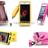 For Alcatel one touch pop d3 ot 4035 fashion style multifunction purse holster mobile phone shell case with lanyard