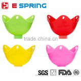Baby Food Supplement Tools Steaming Bowl Baking Pan Silicone Egg Steamer Egg Boiler