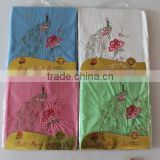 2015 new style polyester / cotton bedding sheets for sale with embroidered animal & flowers