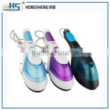 new design Teflon bottom plate sterilize electric steam iron with lint brush 3 in 1 design