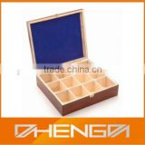 Hot!!! Customized China Famous Elegant Tea Bag Packaging Lacquer Wooden Precious Gift Box (ZDW13-023)