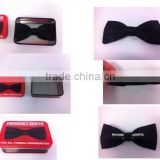 Classic Fashion Novelty Mens Adjustable Tuxedo Bowtie Wedding Bow Tie with bow tie clips wholesale