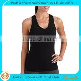 Women's Dri-More Built in Shelf Bra Racerback Tank Activewear Gym Sports