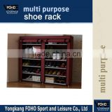 FC118 Non-woven Fabric Shoe Storage with two Rolling Door