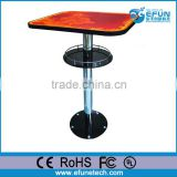 new products liquid cafe tables for sale,interactive art liquid commercial high top bar tables