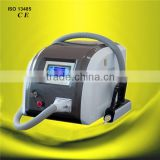 2016 Hot Sale Portable ND YAG Laser Tattoo Removal Machine 1500mj For White And Blue Color Tattoo Removing Facial Veins Treatment
