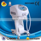 Germany Gold 10 bars 600W Portable 808 diode laser / 808 diode laser beauty machine for salon and spa